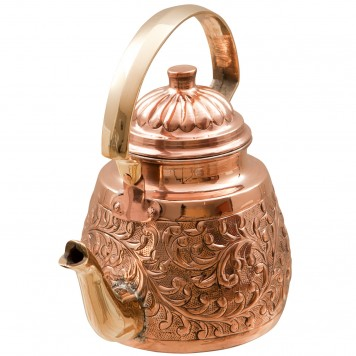 Copper Tea Pot A