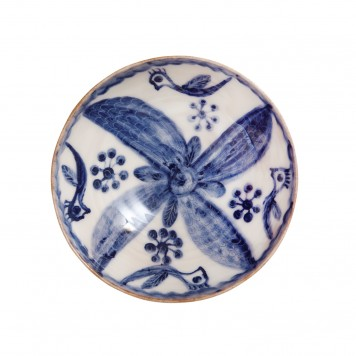 Decorative Ceramic Bowl - Bohemian -F