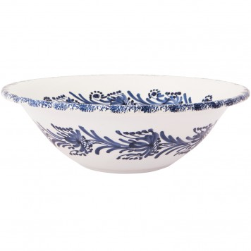 Large_Decorative_Ceramic_Bowls-Blue_and_White-Flower_Wreath-2