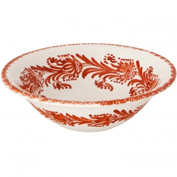 Coffee table large decorative bowls | Flower Wreath terracotta-2