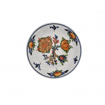 Hand_Painted_Ceramic_Dessert_Decorative_Plates-Blooming_Flowers-II-3