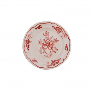 Hand_Painted_Dessert_Decorative_Plates-Flower_II_Terracotta-Skyriana_Ceramic-4