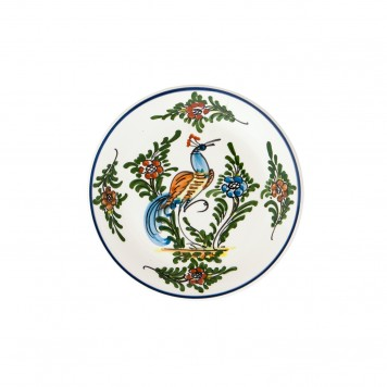 Hand_Painted_Dessert_Decorative_Plate-Peacock_Skyriana_Ceramics-5
