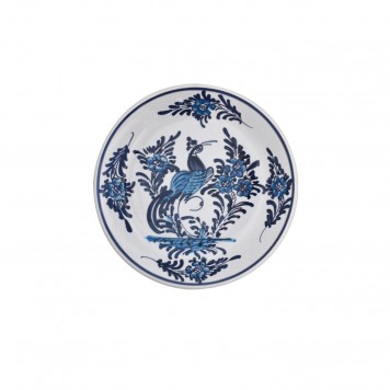 Hand_Painted_Ceramic_Dessert_Decorative_Plates-Peacock_Blue-White-3