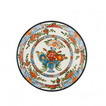 Hand_Painted_Dinner_Decorative_Plates-Flower_Arrangement-Skyriana_Ceramics-5