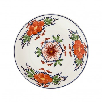 Ceramic_Hand_painted_Dinner_Decorative_Plates-Flowers_II-4