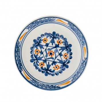 Ceramic_Hand_painted_Dinner_Decorative_Plates-Blue_and_white_Flowers_I-4