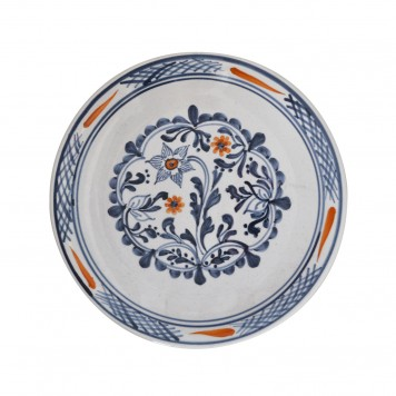 Skyriana_Hand_Painted_Blue_and-White_Dinner_Decorative_Plates-3