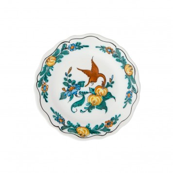 Ceramic_Hand_painted_Fruit_and_Decorative_Plate-Exotic_Bird-4