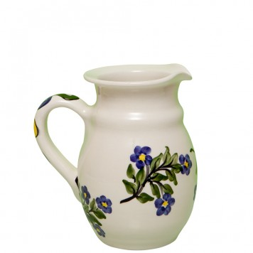 Handmade-Pottery-Jug-Forget-Me-Not-7
