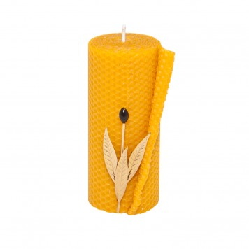 Pillar Beeswax Candles for Sale -C