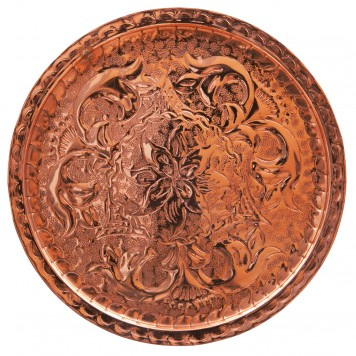 Round Serving Tray -A