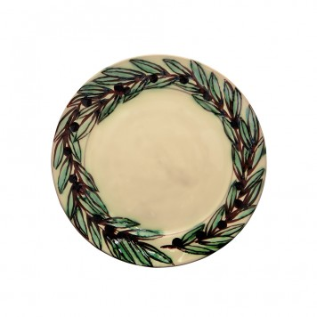 Serving Platter - Olive Wreath-4