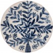 Decorative Blue and White Plates-Birds & Flowers II-1