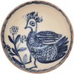 Ceramic Handmade Bowls-Folk art bird-1