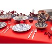 Decorative Blue and White Plates- Flower-4