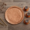 Copper Tray Engraved D