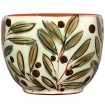Decorative Bowls for Coffee Table-Hand Painted Olives-3