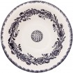 Large decorative bowls for coffee tables | Skyriana Pottery | Flower Wreath-1