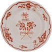 Hand_Painted_Dessert_Decorative_Plates-Flower_II_Terracotta-Skyriana_Ceramic-1