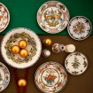 Hand_Painted_Ceramic_Dessert_Decorative_Plate-Eclectic_Flower-Skyriana_Plates-3
