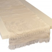 Eagle Jacquard Table Runner, Champagne (S)