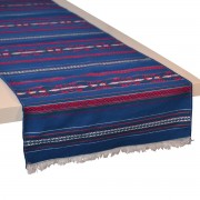 Krinos Jacquard Table Runner, Blue (S)