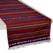 Krinos Cherry Red Table Runner (S)