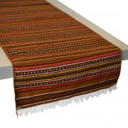 Kythnos Brown Table Runner (S)