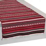 Paros Wine Red Table Runner (L)