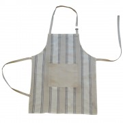 Striped Apron w/ Pocket, Sand
