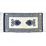 Acroceramo Greek Blue Rug, Two-Sided, 65x135cm