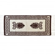 Acroceramo Brown Rug, Two-Sided, 65x135cm