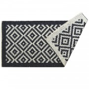 Island Midnight Blue Rug, Two-Sided, 65x135cm