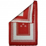 Meander Two-Sided Rug, Red, 70x120cm