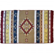 Omfalos Two-Sided Rug, Crismon Red, 140x210cm