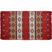 Orino Rug, Bright Red, 70x120cm