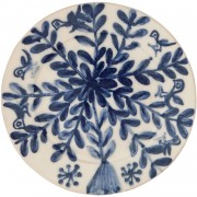 Birds on Flower, Decorative Plate, d:23cm