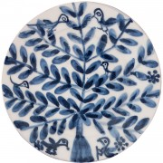 Birds on Tree II, Decorative Wall Plate, d:23cm