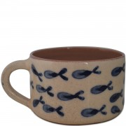 Fishes, Ceramic Coffee Mug