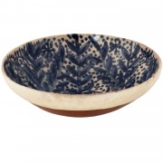 Greek Island Blue-White Bowl, d: 22cm (d: 8.66'')