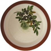 Olives, Large Serving Platter, d:34cm