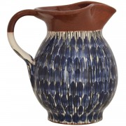 Drops, Hand-Painted Pottery Jug, 1 lt