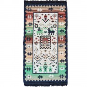 Artemis Rug, Greek Blue, 70x120cm