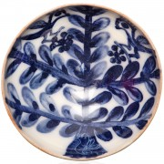 Branch, Blue and White Bowl, d:11cm