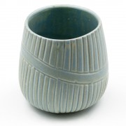 Diogenis, Ceramic Cup with no Handle, Teal
