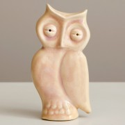Ceramic Owl, Decorative Pottery