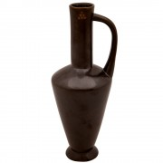 Inos, Ceramic Pitcher, Black