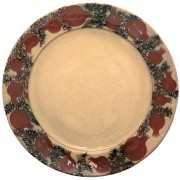 Pomegranate, Afternoon Tea Plate, d:23cm