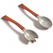 Ceramic Salad Servers, Set of 2